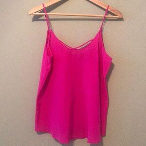Rory Beca Hot Pink Silk Cami